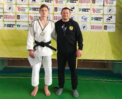 Дзюдоїст Лев Смагін став Чемпіоном України (ВІДЕО)