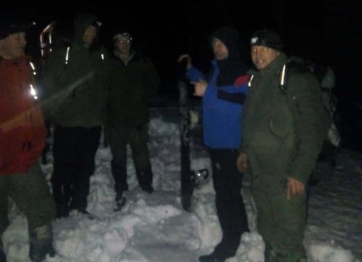 У горах на Рахівщині шукали туриста з Одещини