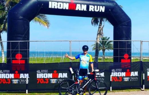 Ужгородець став фіналістом тріатлону IRONMAN в Омані (ФОТО)