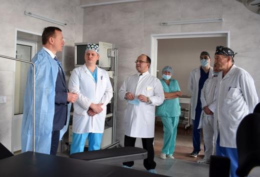 Нова операційна запрацює в одній із лікарень Ужгорода