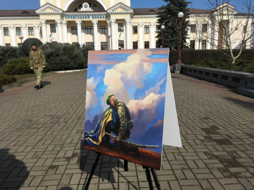 У Чопі відбулася виставка відомої литовської художниці