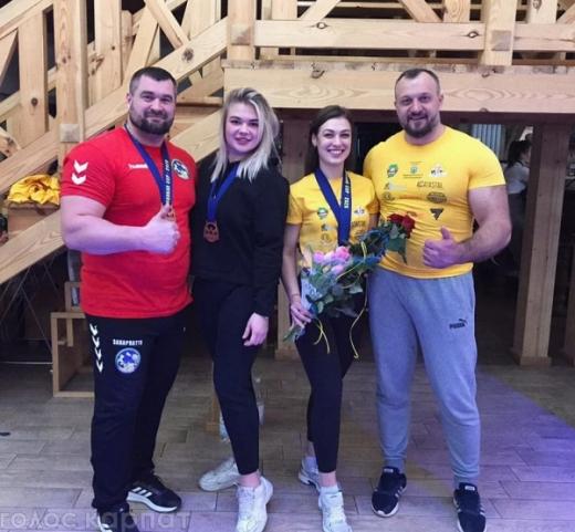 Чемпіонкою світу з армреслінгу вдруге стала Богдана Лехман із Закарпаття