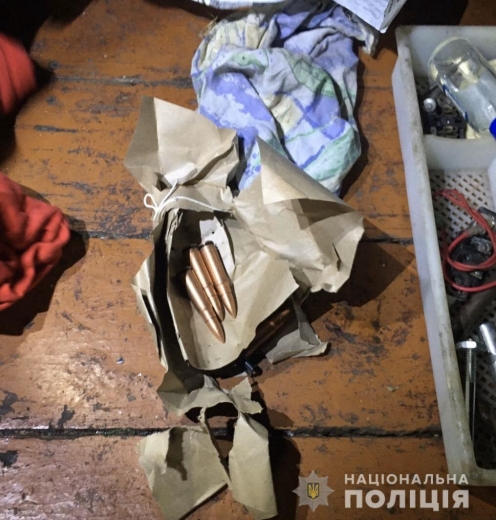 У Мукачеві під час обшуку вилучили вибухонебезпечні предмети