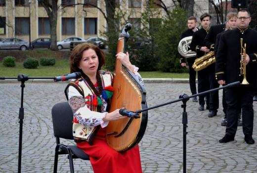 В Ужгороді відбулися урочистості з нагоди відзначення 206-ої річниці від дня народження Тараса Шевченка