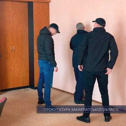 На хабарі викрили начальника аварійно-рятувального загону УДСНС в Закарпатті (ФОТО)