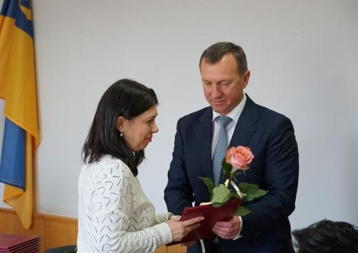 Грамотами міської ради відзначили жінок-активісток Ужгорода