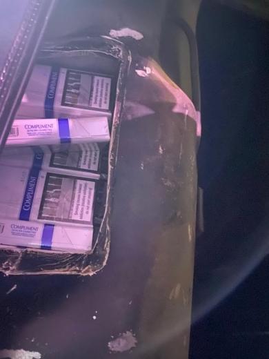 На Закарпатті прикордонники за останню добу виявили три спроби тютюнової контрабанди (ФОТО)