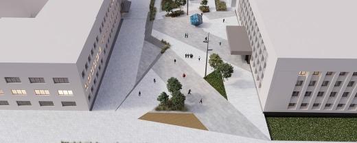 Як виглядатиме підземний паркінг на Поштовій площі в Ужгороді (ескіз)