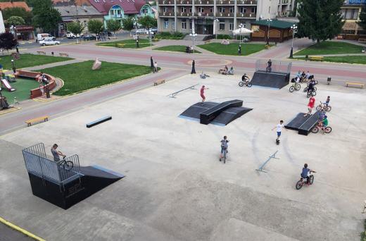 Ужгородці подали петиції на облаштування трьох кімнат матері й дитини та скейт-парку у кожному районі міста