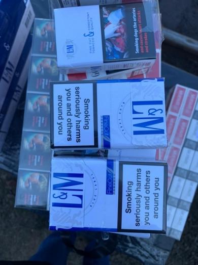 П'ять ящиків сигарет у міжнародному вантажному потязі знайшли на Закарпатті