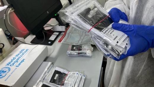 ВООЗ передала Україні другий набір тестів на коронавірус