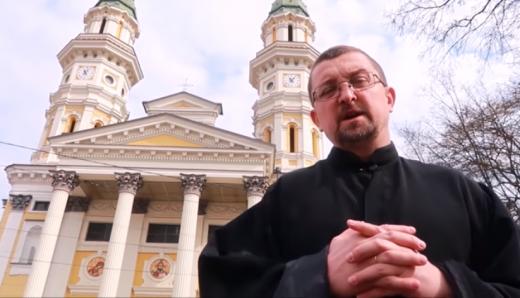 Священнослужителі Ужгородського кафедрального собору звернулися до вірян у зв'язку з пандемією
