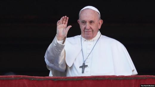Папа Римський через коронавірус проведе загальну молитву - сьогодні о 19.00