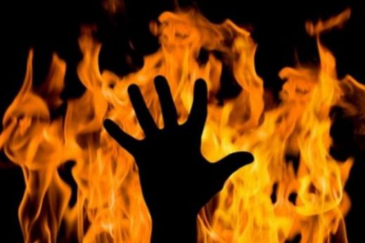 На Великоберезнянщині під час сварки чоловік підпалив свого товариша