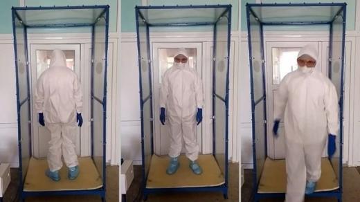 В Ужгороді коштами волонтерів закуплять рамки для дезінфекції медиків