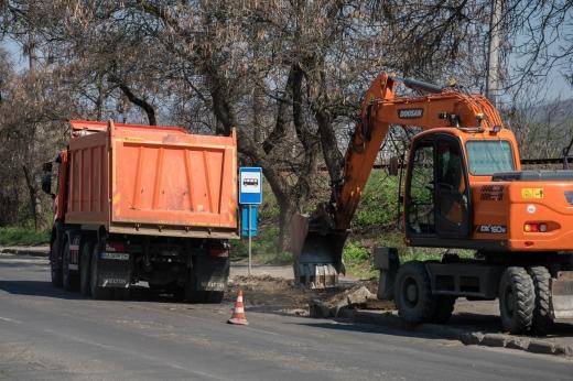 Ремонт розпочали на одній із вулиць Ужгорода