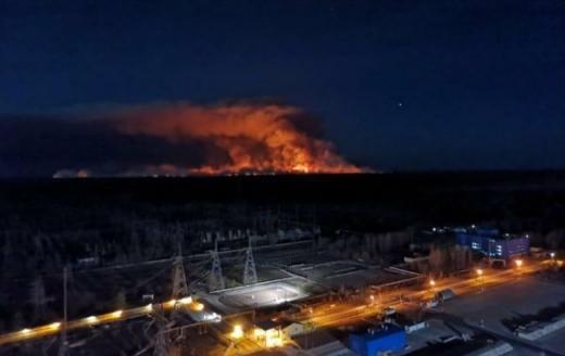 Відкритого вогню у Чорнобильській зоні більше немає