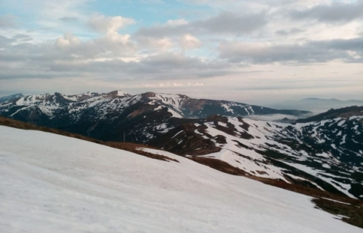 Травневий сюрприз: у горах - сніг та температура нижче нуля