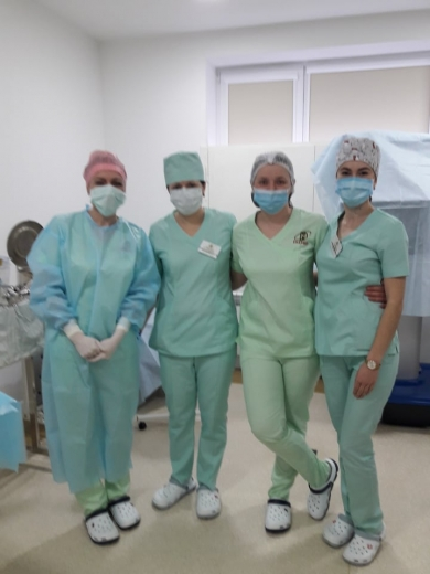 Головна медсестра ужгородського медичного центру – про роботу і роль професії у системі охорони здоров'я