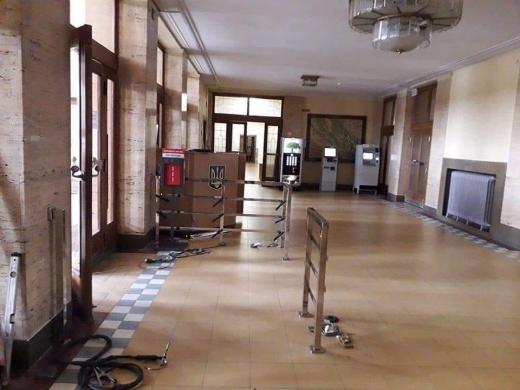 На час карантину в будівлі Закарпатської ОДА організують тимчасовий пропускний режим