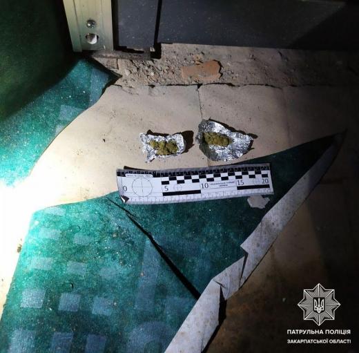 Несподівані знахідки виявили патрульні у мукачівців