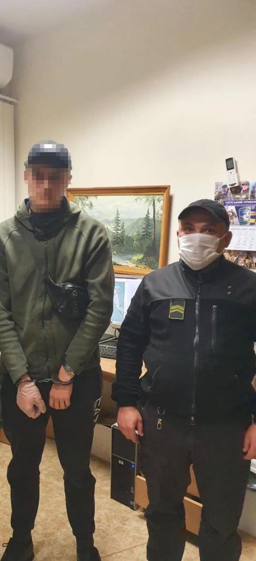 На Закарпатті затримали чоловіка, який перебував у міжнародному розшуку