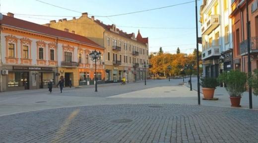 Капітальний ремонт зеленої зони розпочали на  площі Петефі