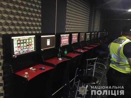 В Берегові поліцейські припинили незаконну діяльність грального закладу