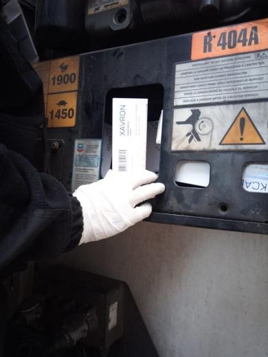 """У ПП """"Дякове"""" прикордонники у вантажному автомобілі знайшли лікарські засоби на 160 тисяч гривень (ФОТО)"""
