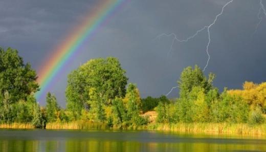 У перший тиждень літа українців чекають дощі, грози і до +27°