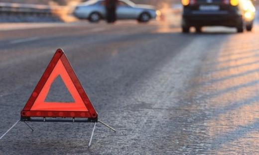 Автопригода в Ужгороді: момент зіткнення автівок зафіксували камери
