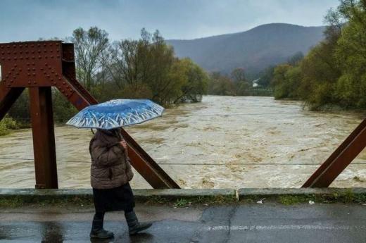 Синоптики прогнозують підвищення рівня води у річках Закарпаття