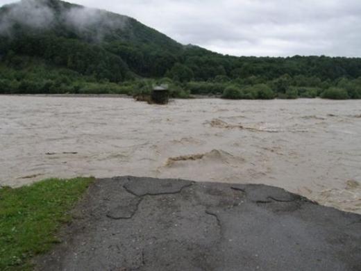 На Закарпатті можливі паводки: чи є загроза підтоплення