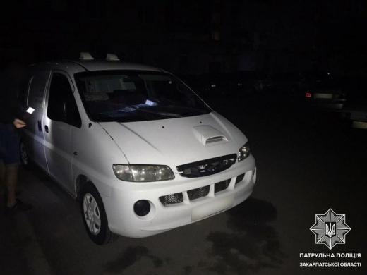Завдяки небайдужому громадянину ужгородські патрульні затримали ймовірного грабіжника
