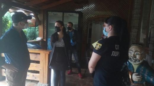 Рейд закладами громадського харчування здійснили рятувальники Виноградова