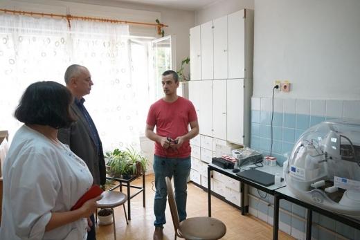 Дитяча лікарня Ужгорода поповнилася сучасними медичними апаратами