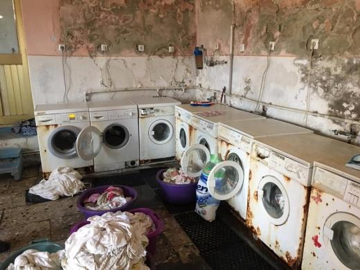 Вражаюче перевтілення: з'явились фото оновленої пральні Хустської лікарні (ФОТО)