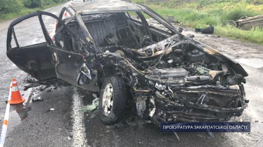 ДТП на Ужгородщині: винуватець утік з місця події