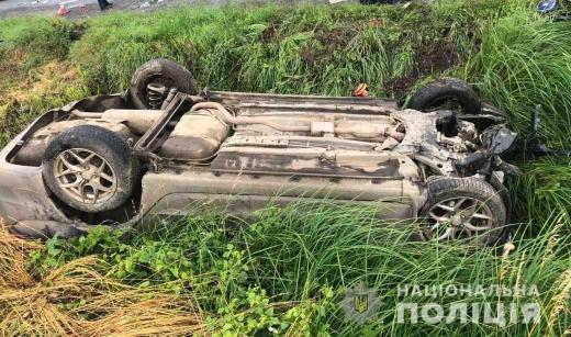 Винуватця потрійного ДТП поблизу Ужгорода внаслідок якої одна автівка згоріла затримала поліція
