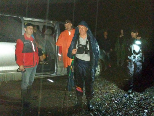 Протягом доби рятувальники провели пошуки людей в трьох районах Закарпаття
