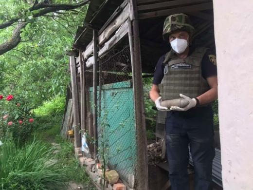 Піротехніки ДСНС Закарпаття продовжують знищувати застарілі боєприпаси