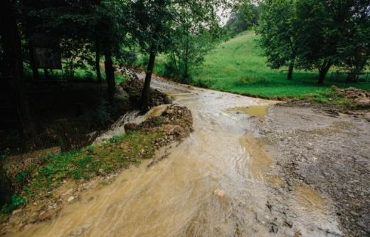 Ще одне село через негоду затоплено на Закарпатті