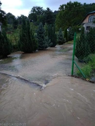 Підтоплені десятки будинків: негода знову вирувала на Закарпатті