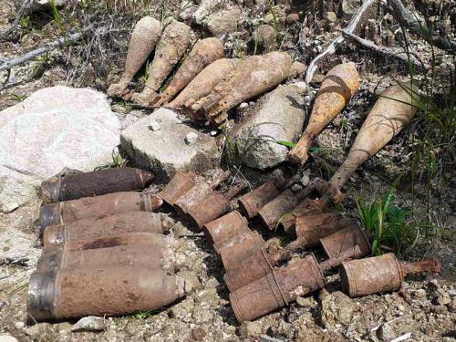 За один день закарпатські піротехніки виявили і знищили 29 боєприпасів