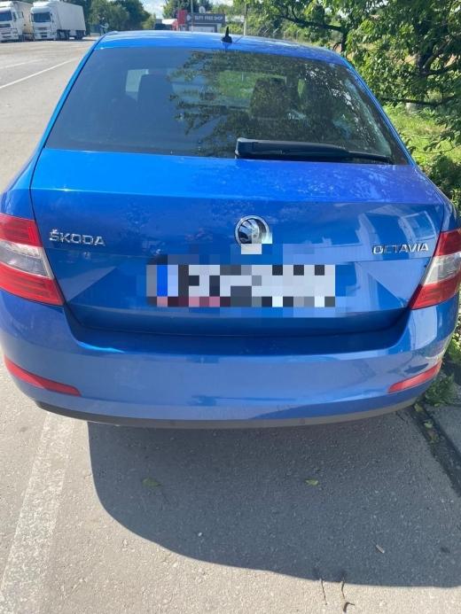 Викрадене в Угорщині авто виявили на Закарпатті