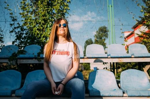 Закарпатська спортивна журналістка Олександра Артюхіна — про свій шлях у професії