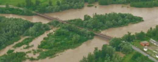 Підйом рівня води очікується у річках Закарпаття