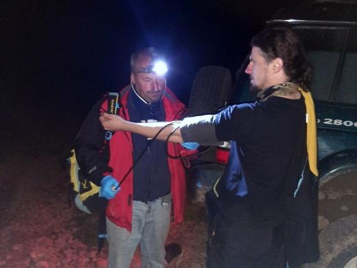 На Закарпатті в горах травмувався турист