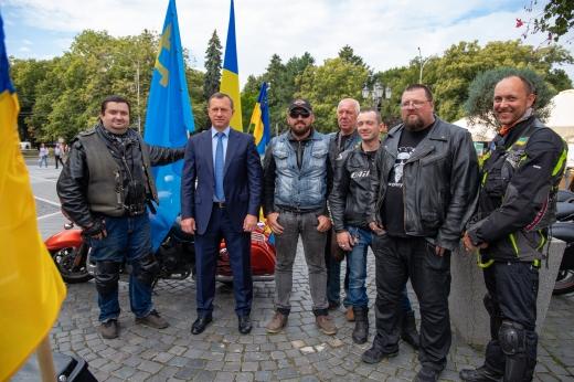 Традиційно «Мотопробіг Єдності 2020» стартував сьогодні в Ужгороді