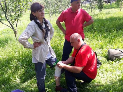 На Іршавщині в лісі заблукала 57-річна жінка